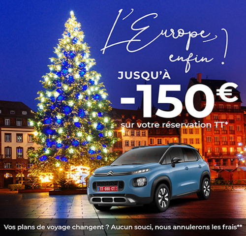 Europe FINALLY on your Citroen up to 150€