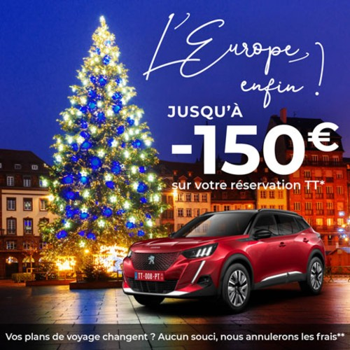 Delivery 2020 : Let's celebrate! 150 € discount