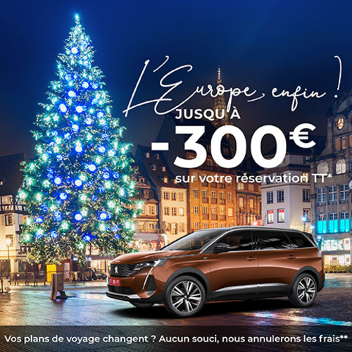 Let's celebrate! 300€ discount on your PEUGEOT